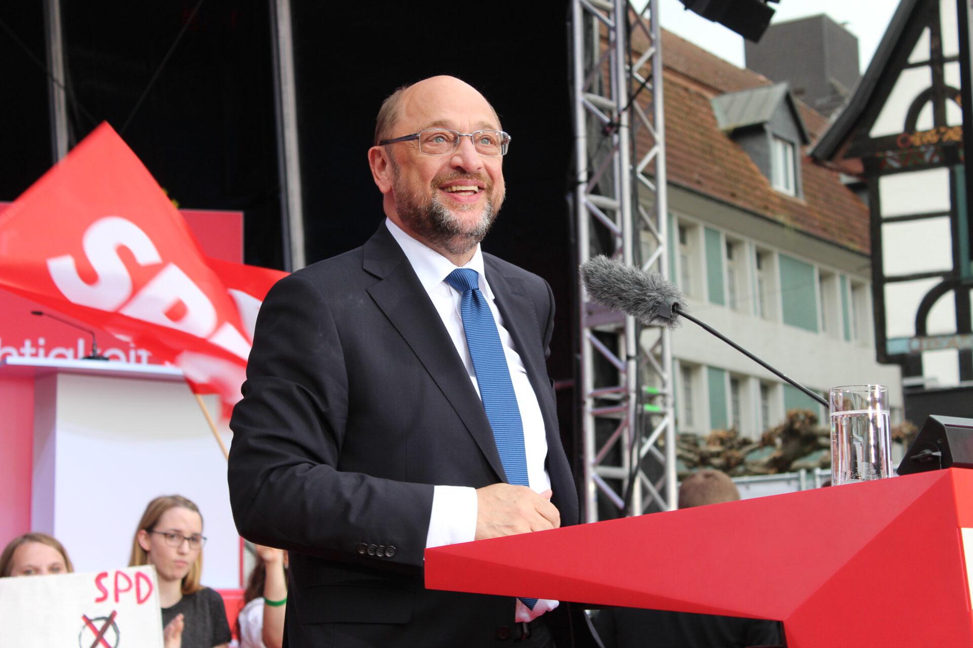 Martin Schulz live in Unna