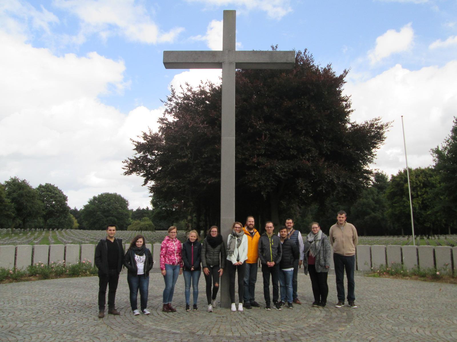 Friedensarbeit mit Auszubildenden in Ysselsteyn
