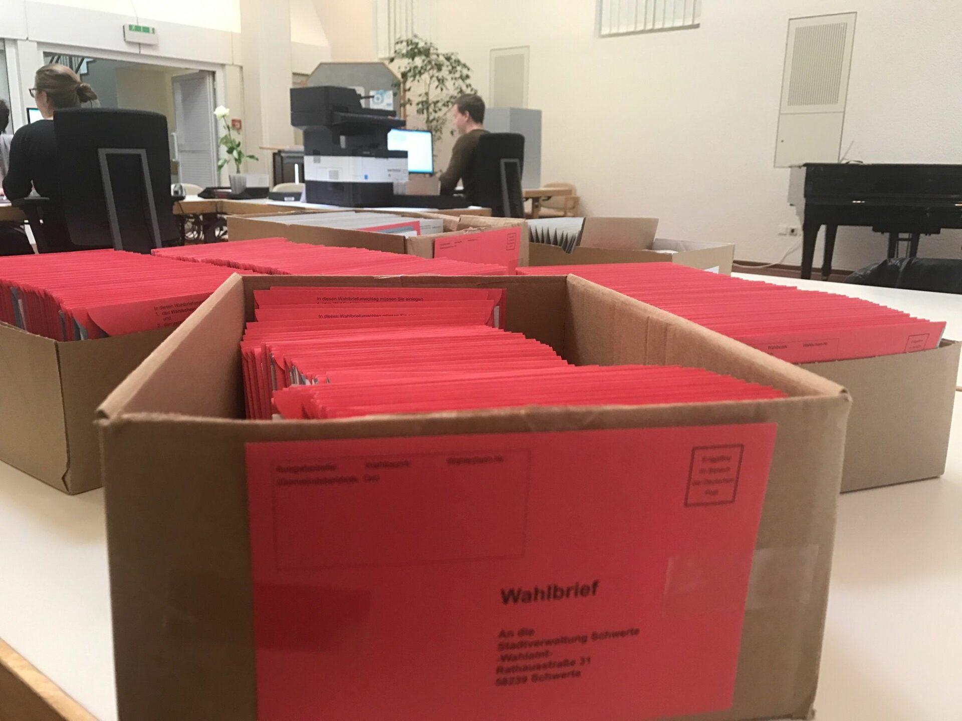 Briefwahlrekord zur Bundestagswahl
