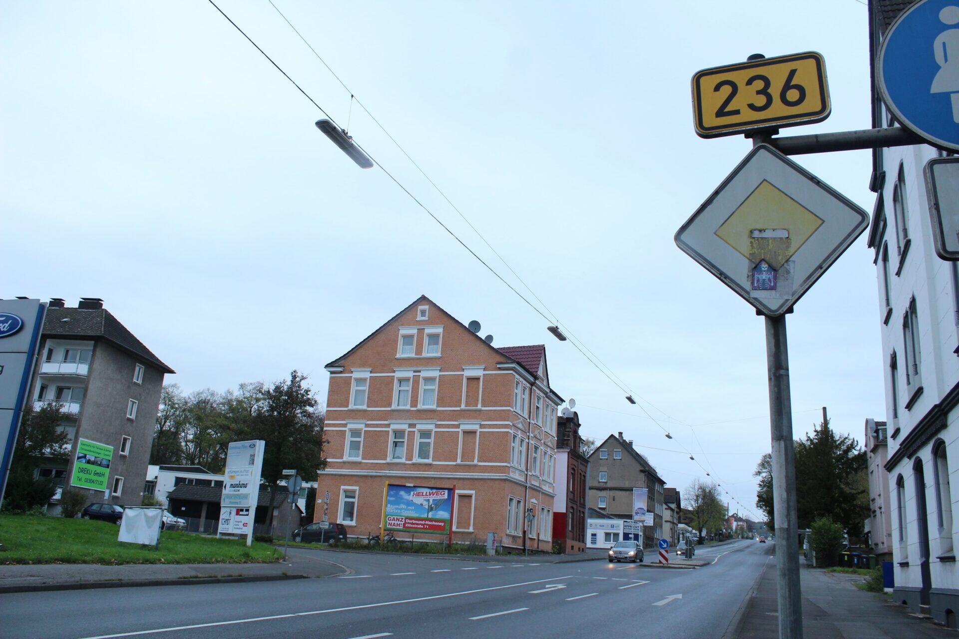 Baubeginn für den vierstreifigen Ausbau der Bundesstraße B 236 am 14. April 2020