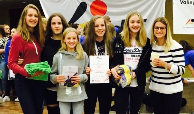 FBG-Volleyballerinnen belegen 6. Platz bei Schulmeisterschaften