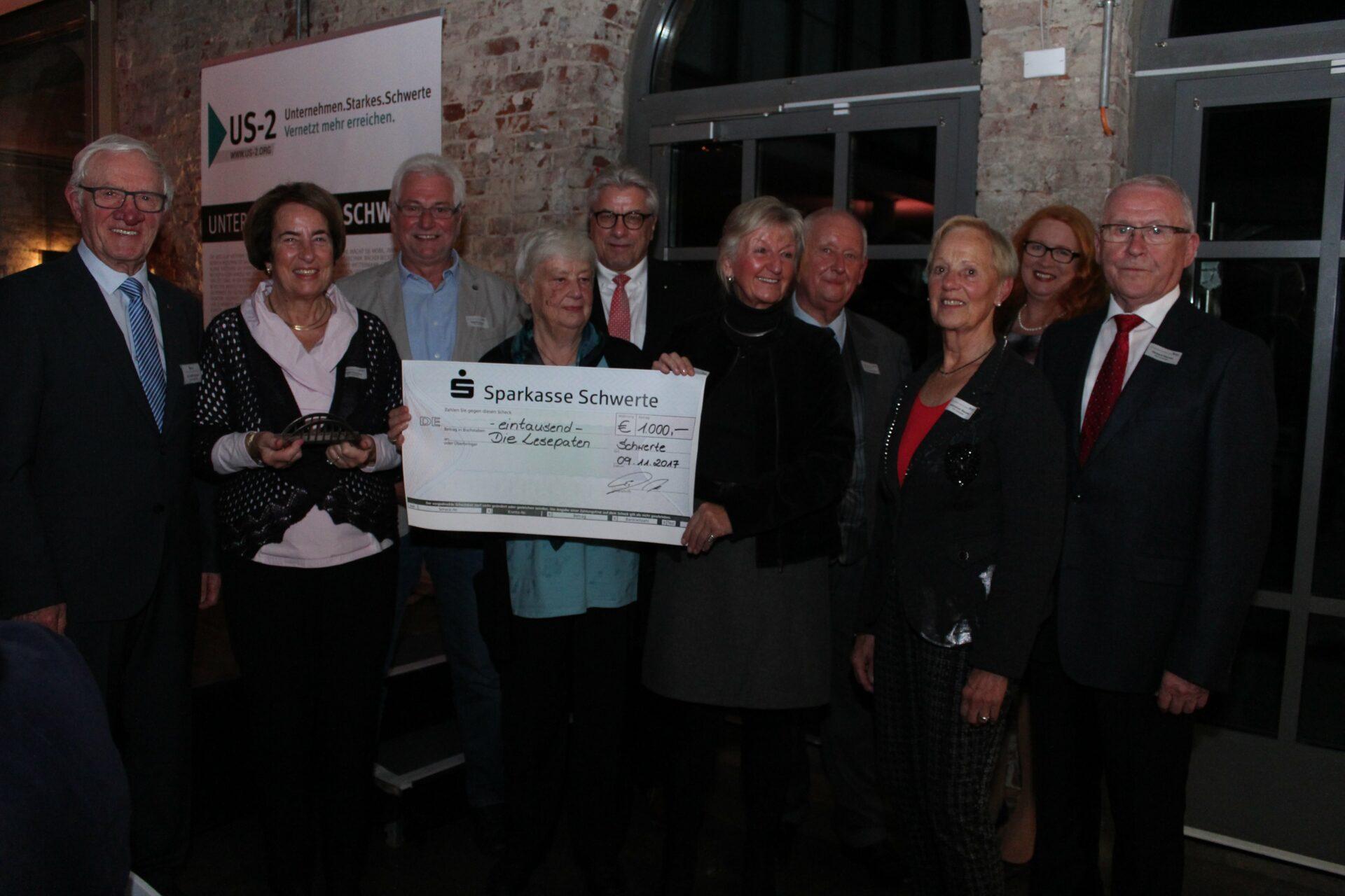 Lesepaten erhielten den Karl-Willi-Demges-Preis