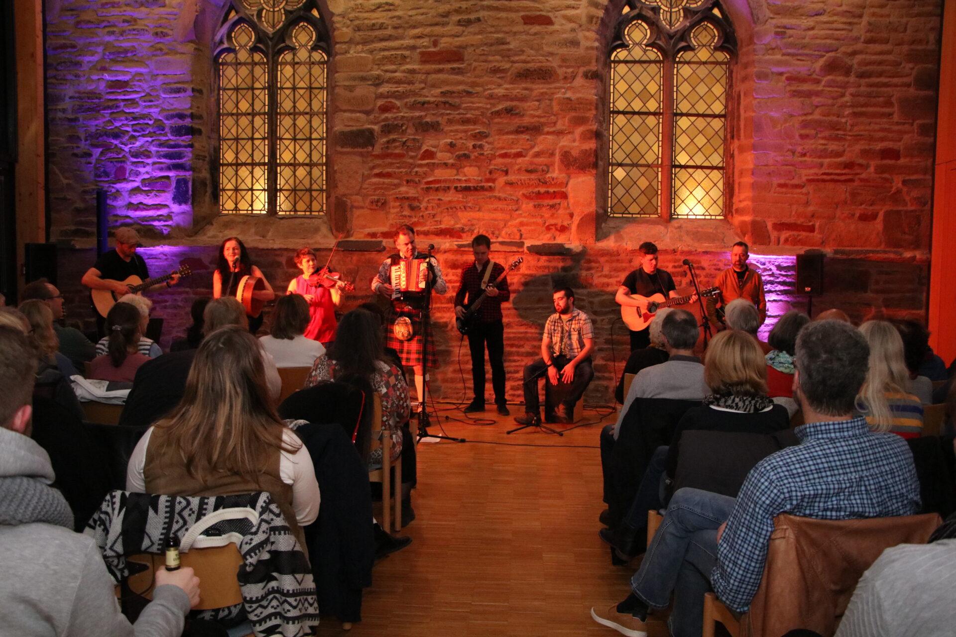 Beeindruckender Abend mit keltischer Musik