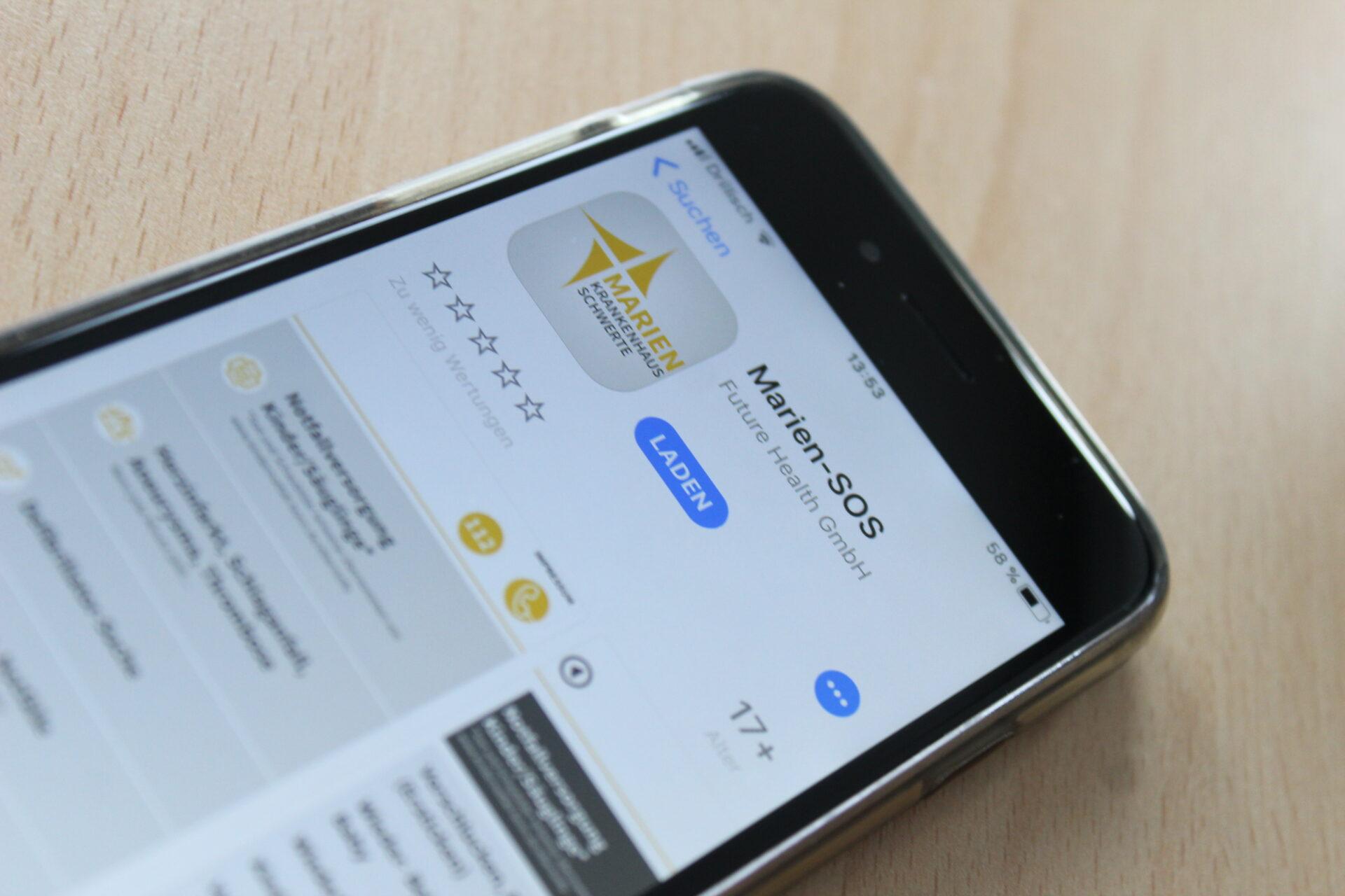 Marien-SOS: Die App für den Notfall