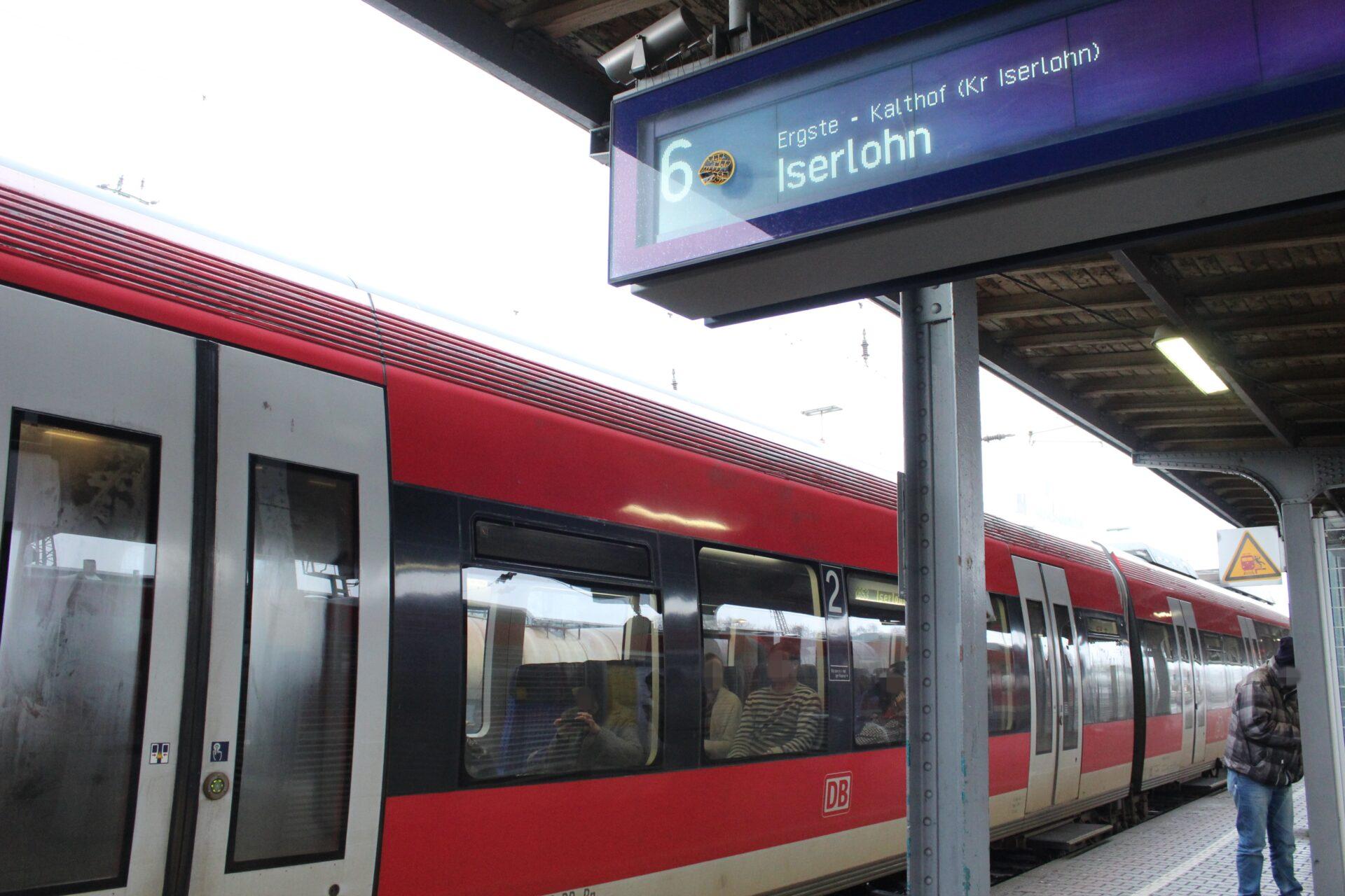 Zugausfälle auf der Linie RB53