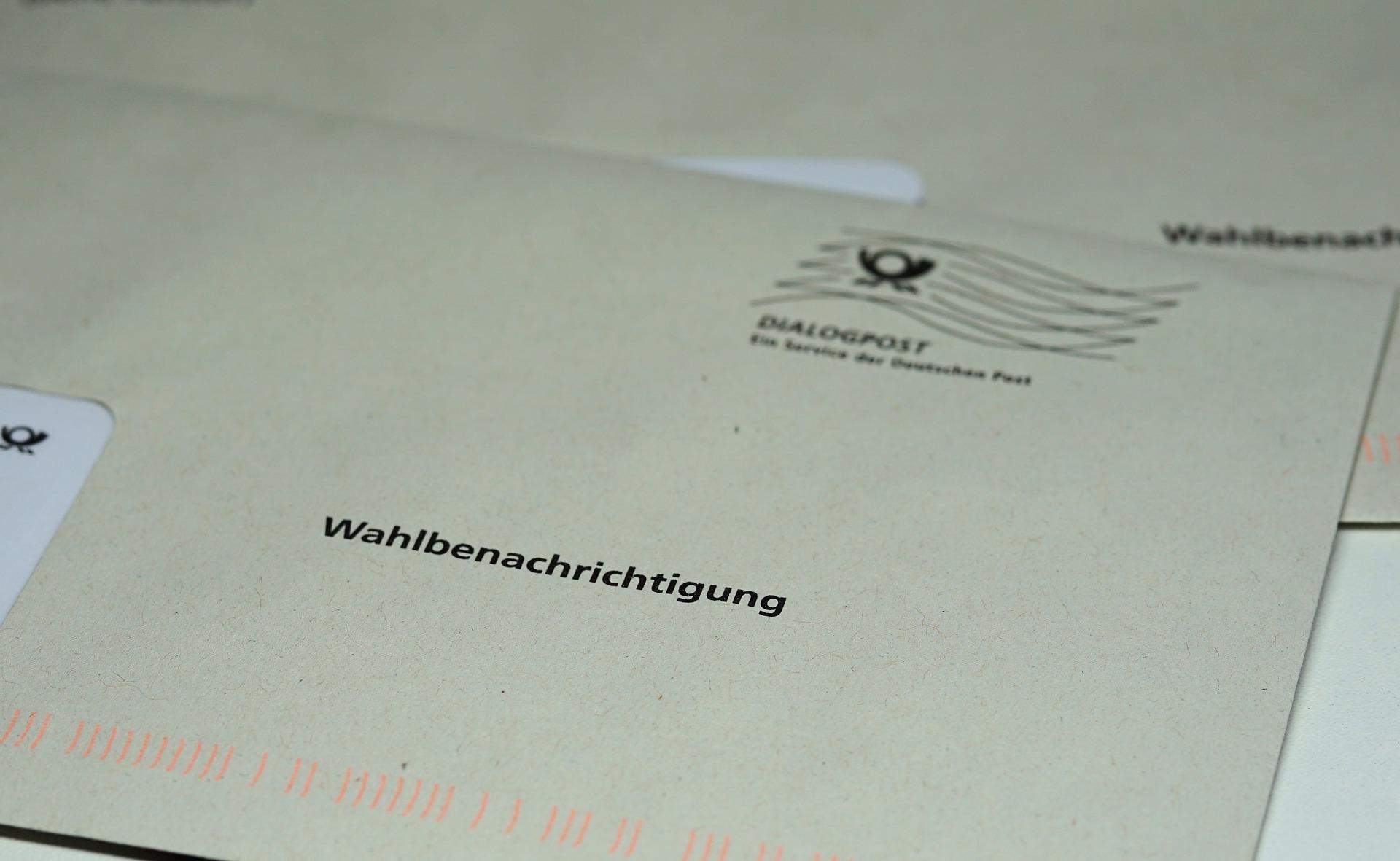 Per Briefwahl im Rathaus wählen
