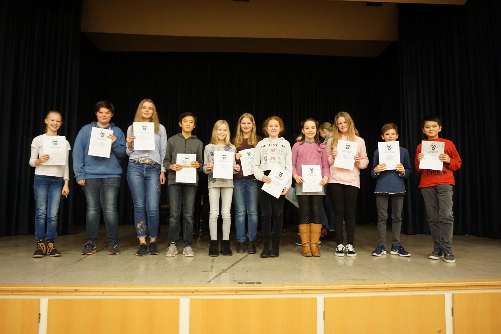 57. Mathematik-Olympiade: Viele Sieger am RTG