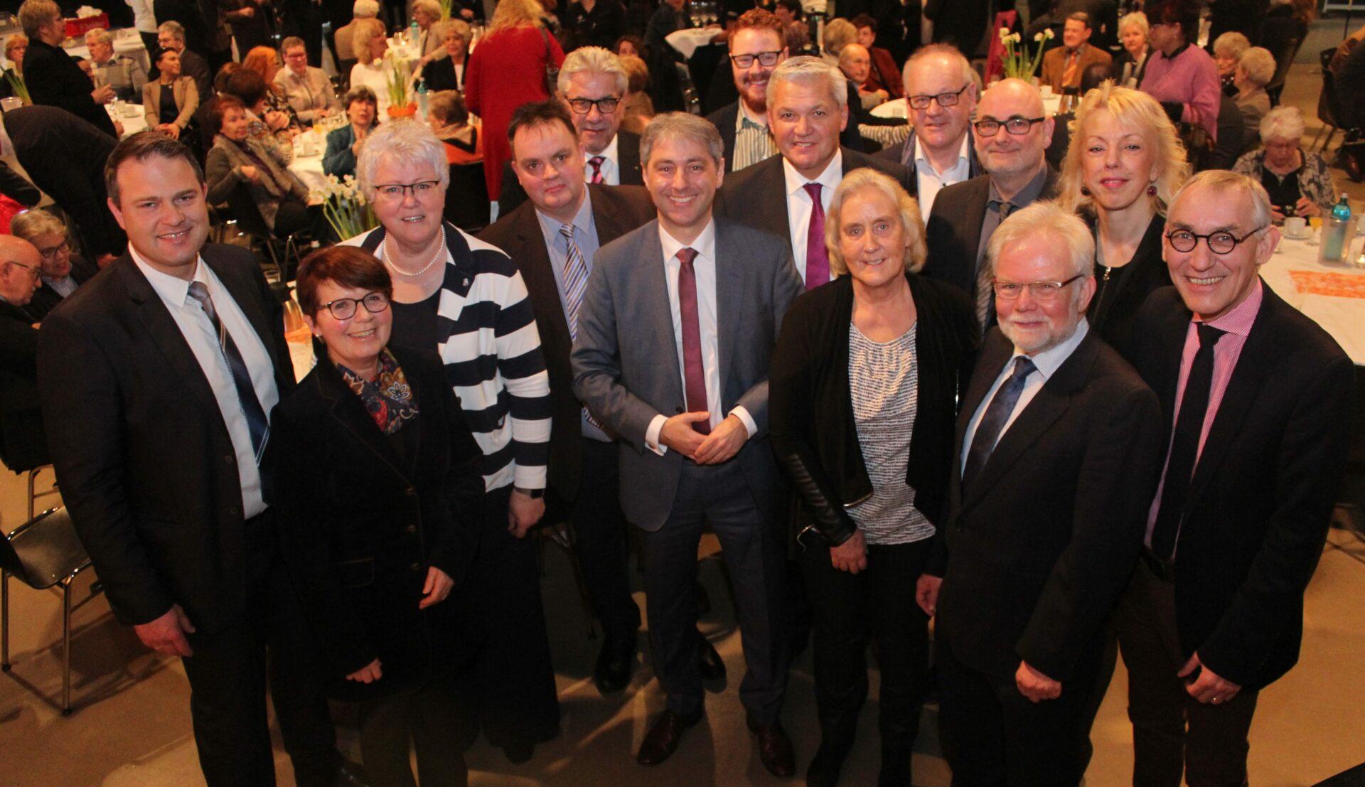 CDU startet mit Neujahrsempfang in den Wahlkampf