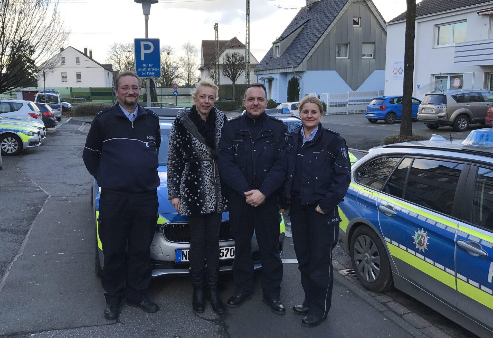 Susanne Schneider begleitete Frühschicht der Polizei in Unna