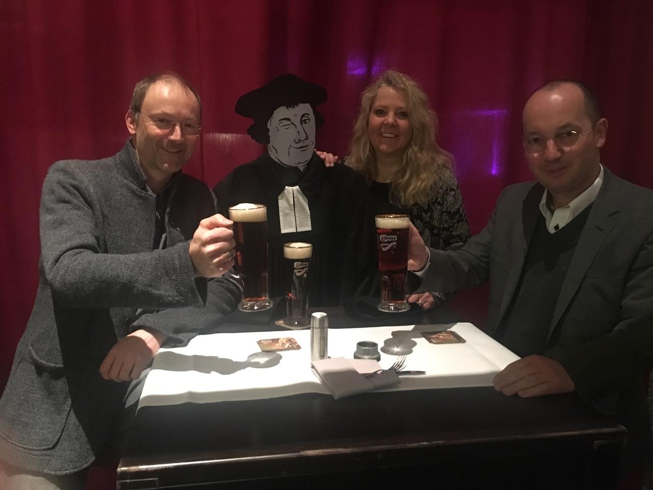 """Kulinarisches Erlebnis: """"Fünf Gänge mit Luther"""""""