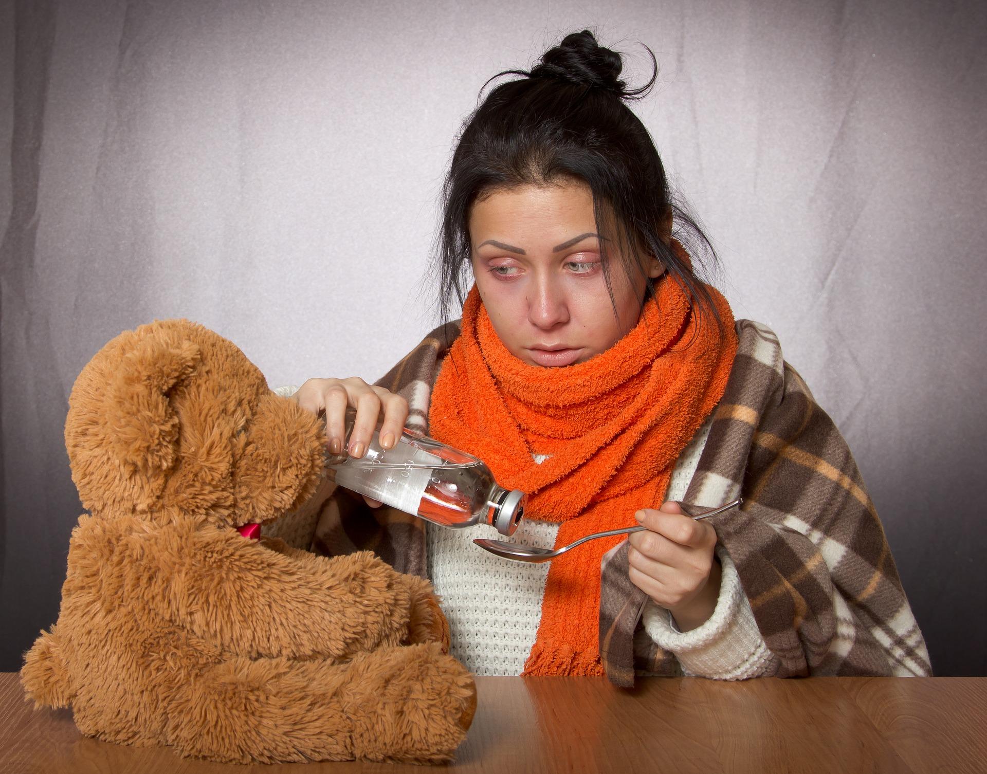 Über 300 gemeldete Grippekranke im Februar
