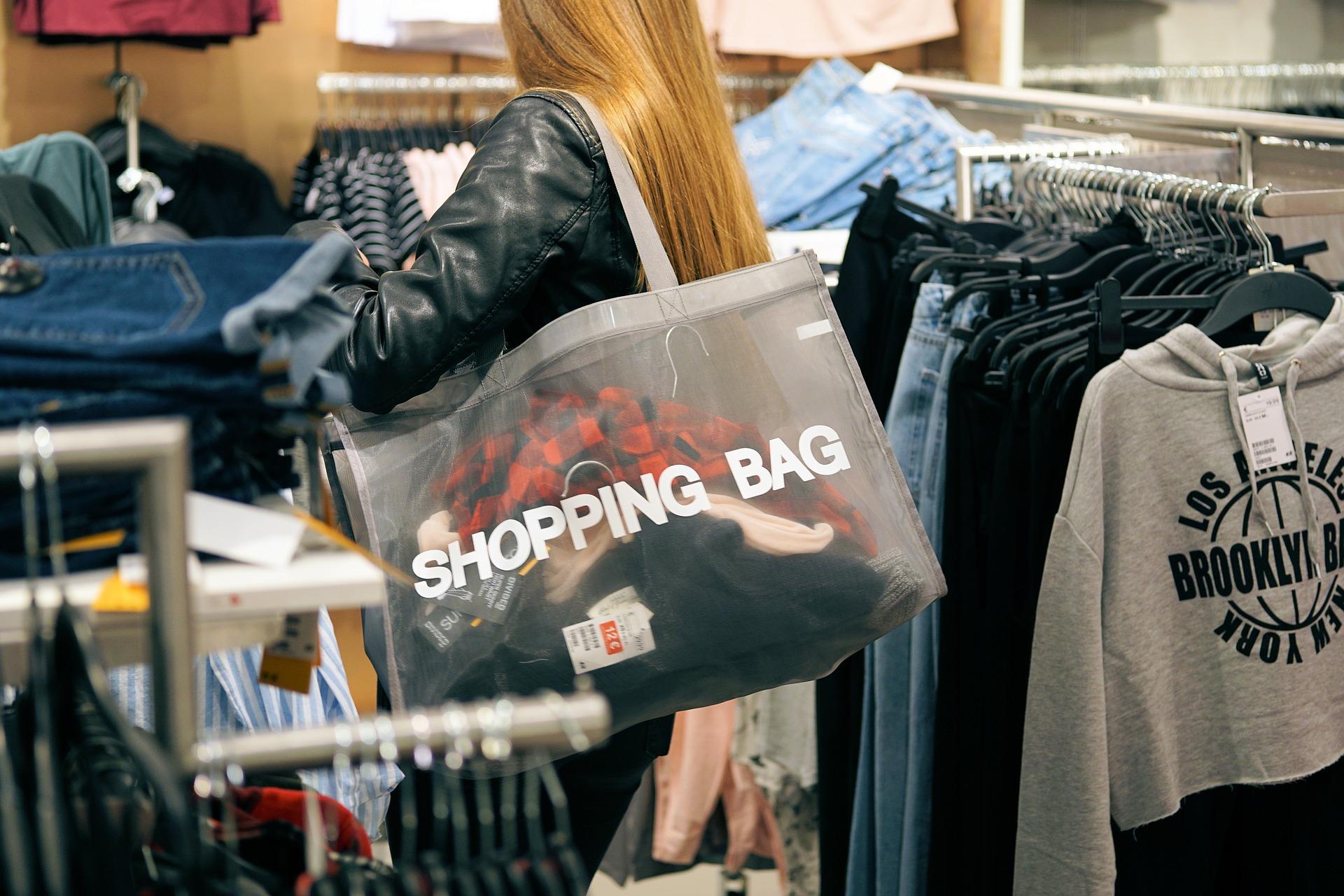 Shoppingjagd mit den jungen Jamaikanern