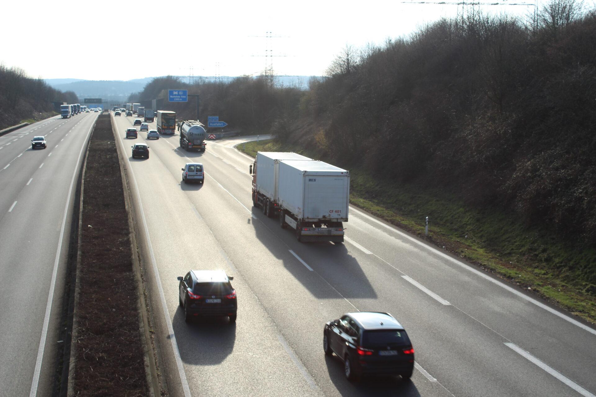 A1/A45: kurzzeitige Sperrungen im Kreuz Westhofen