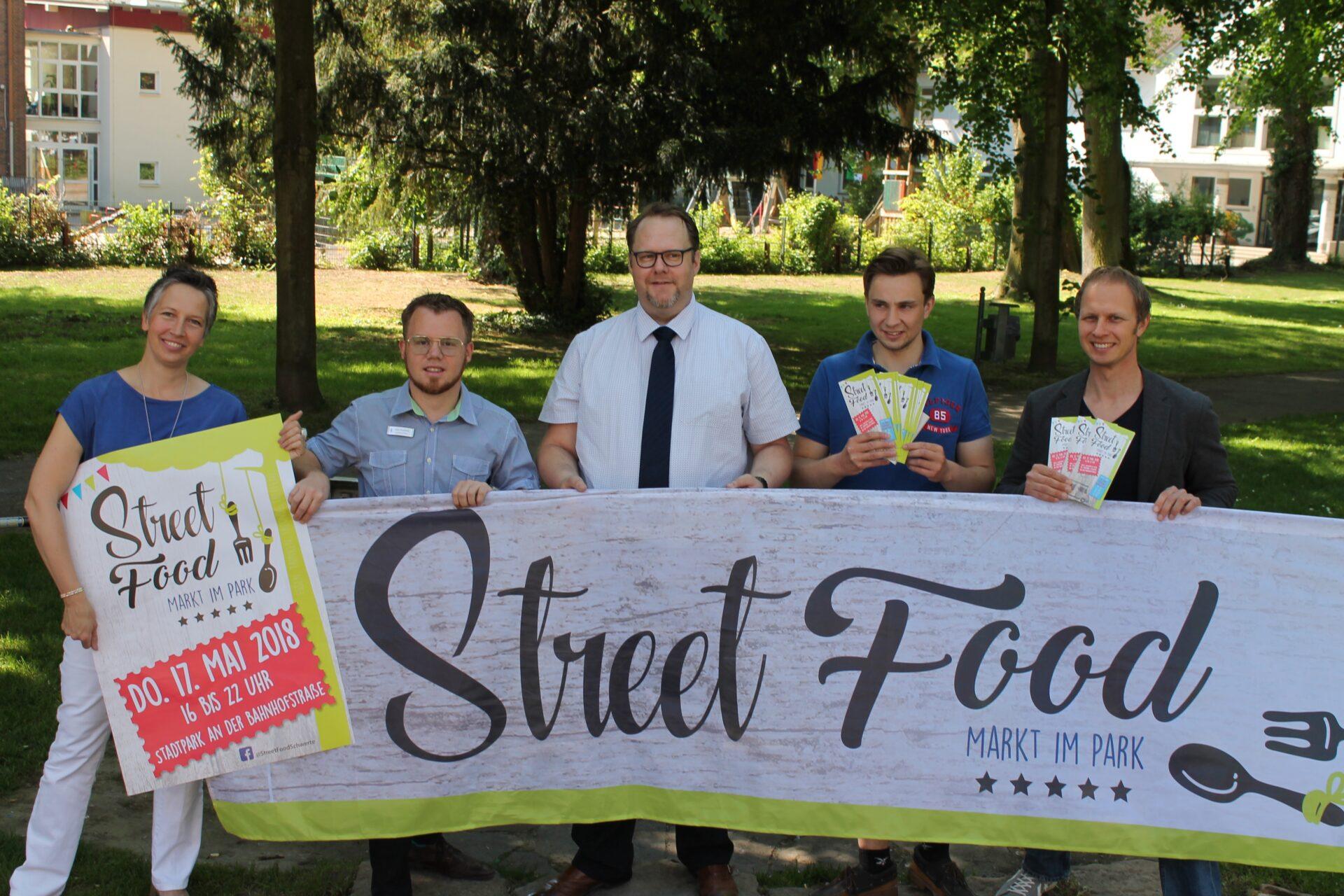 Ein Markt mit Geschmack: Street Food im Stadtpark