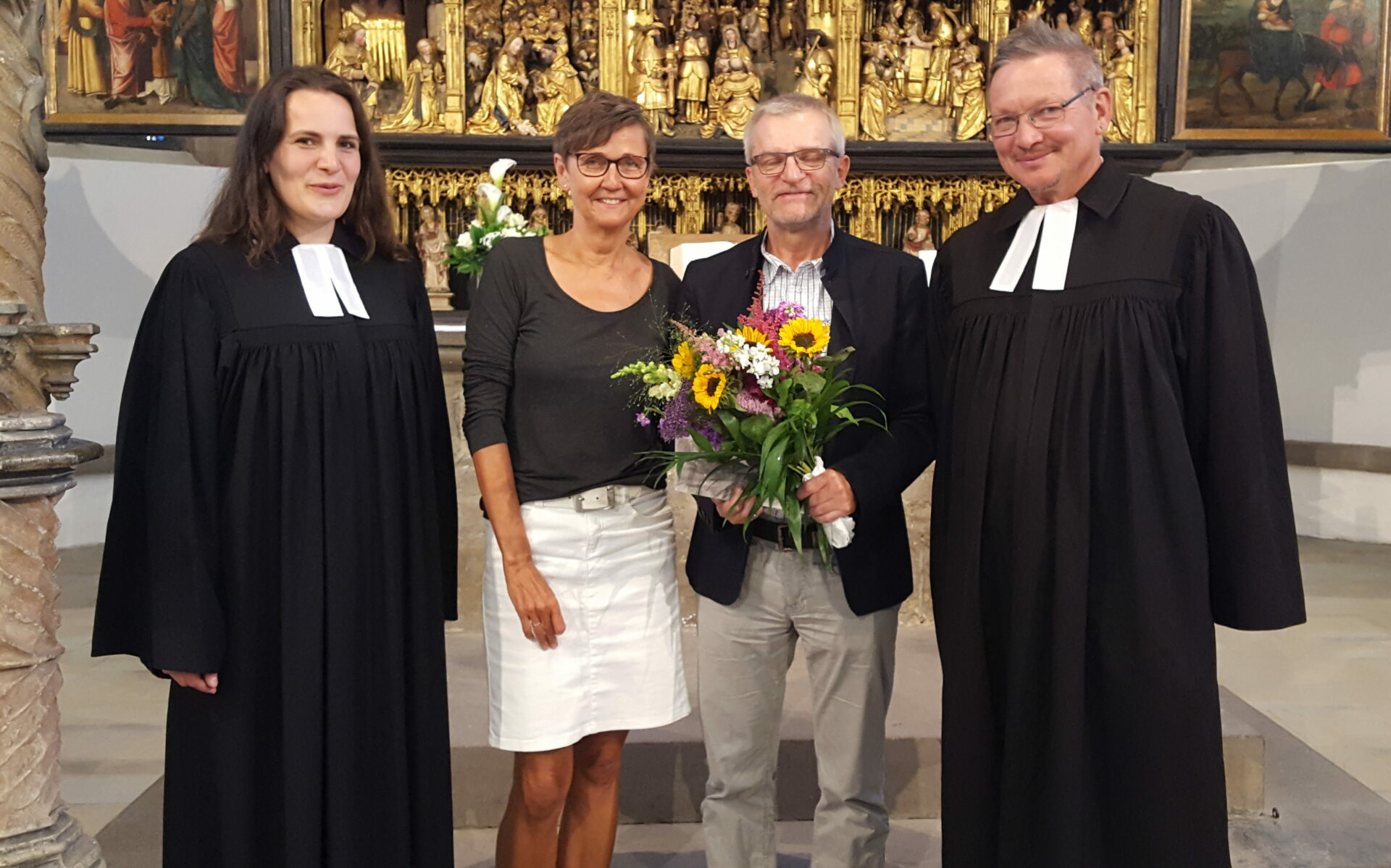 Ulrich Groth feiert 40-jähriges Jubiläum