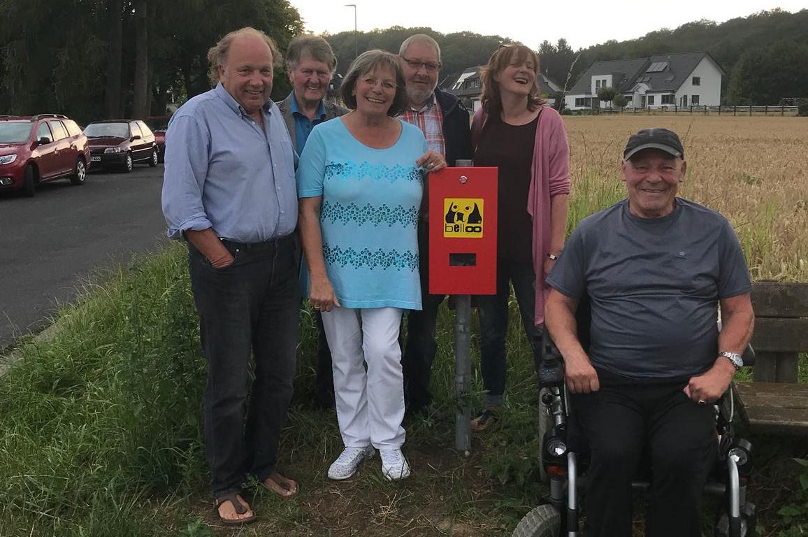 SPD Schwerte-Nord spendet Hundekotbeutelspender