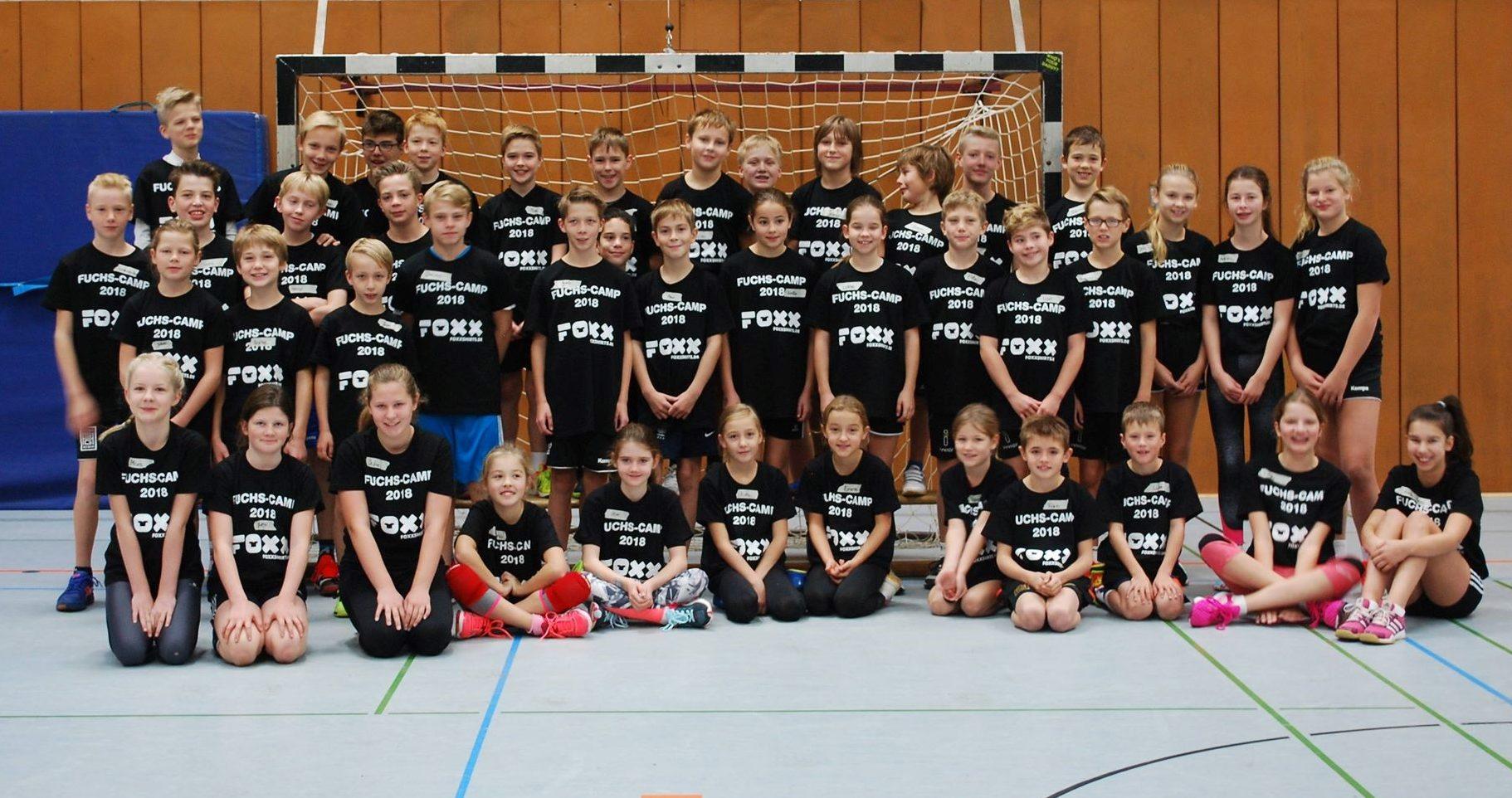 Ruhr Füchse blicken auf erfolgreiches Handballcamp zurück