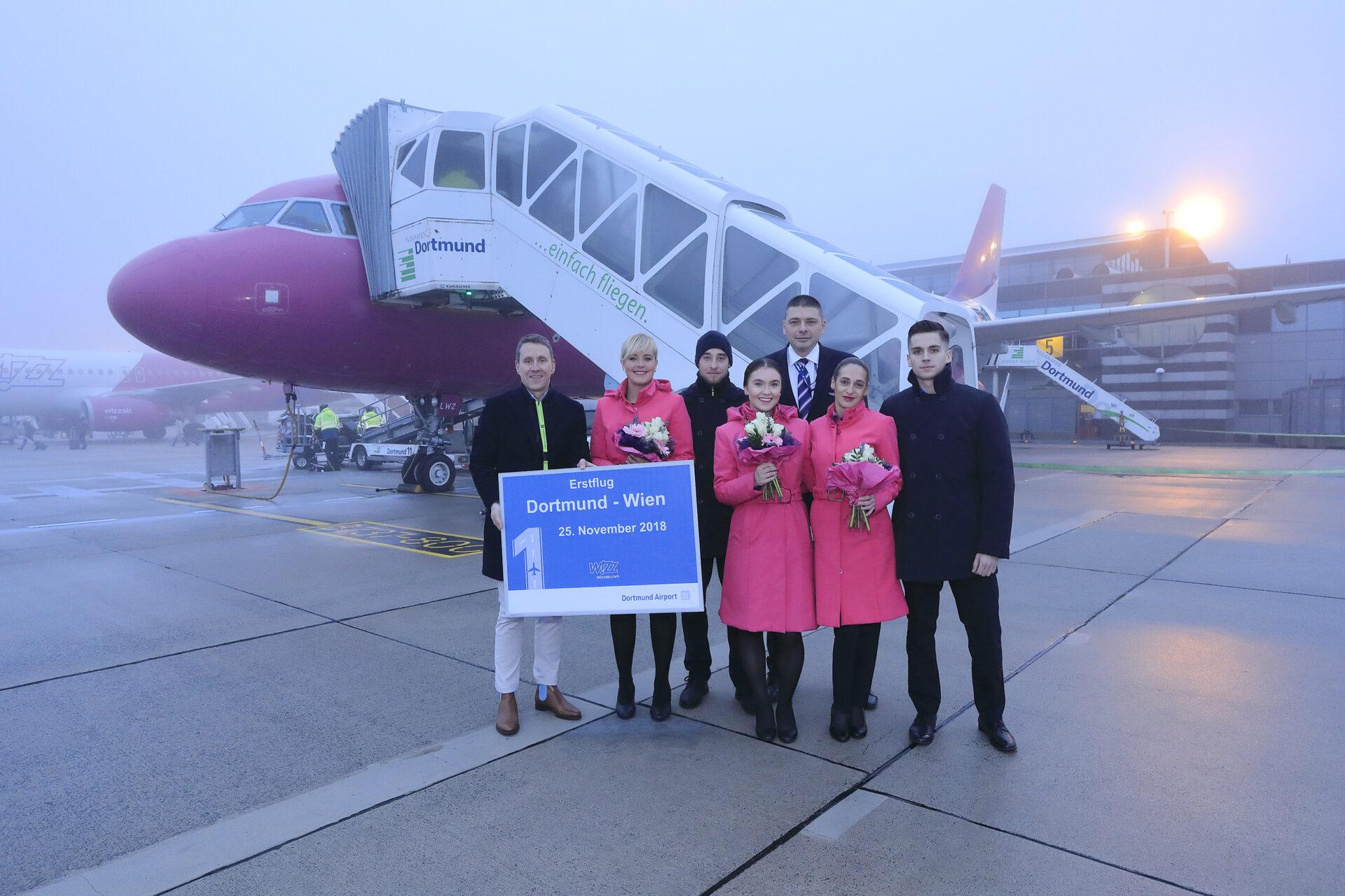 Mit Wizz Air von Dortmund nach Wien fliegen