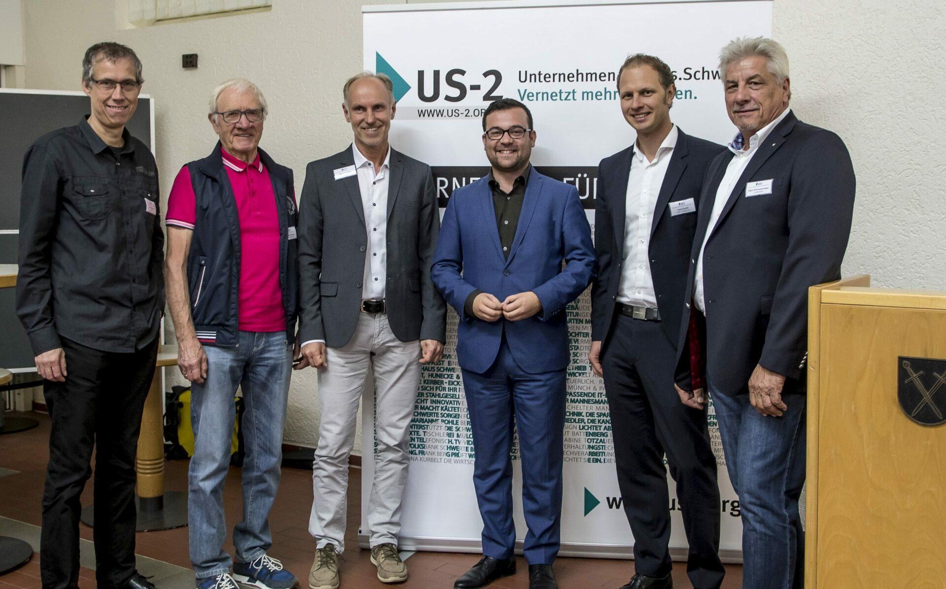 """Unternehmerinitiative """"US-2"""" war zu Gast im Rathaus"""