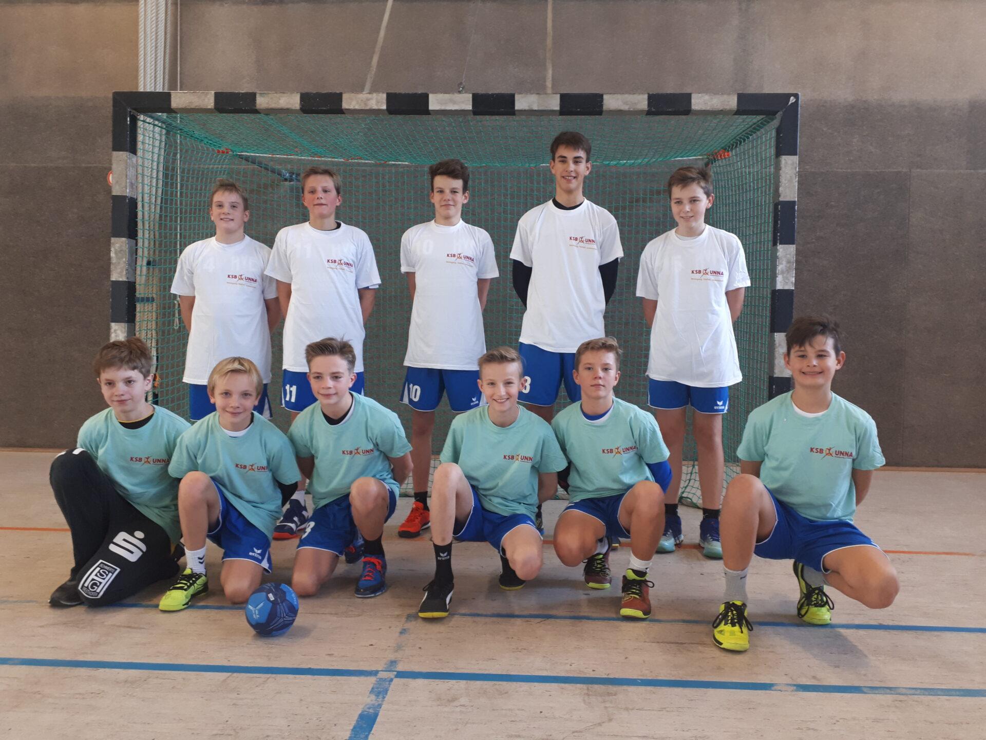 FBG-Handballer erreichen souverän die Bezirksmeisterschaften