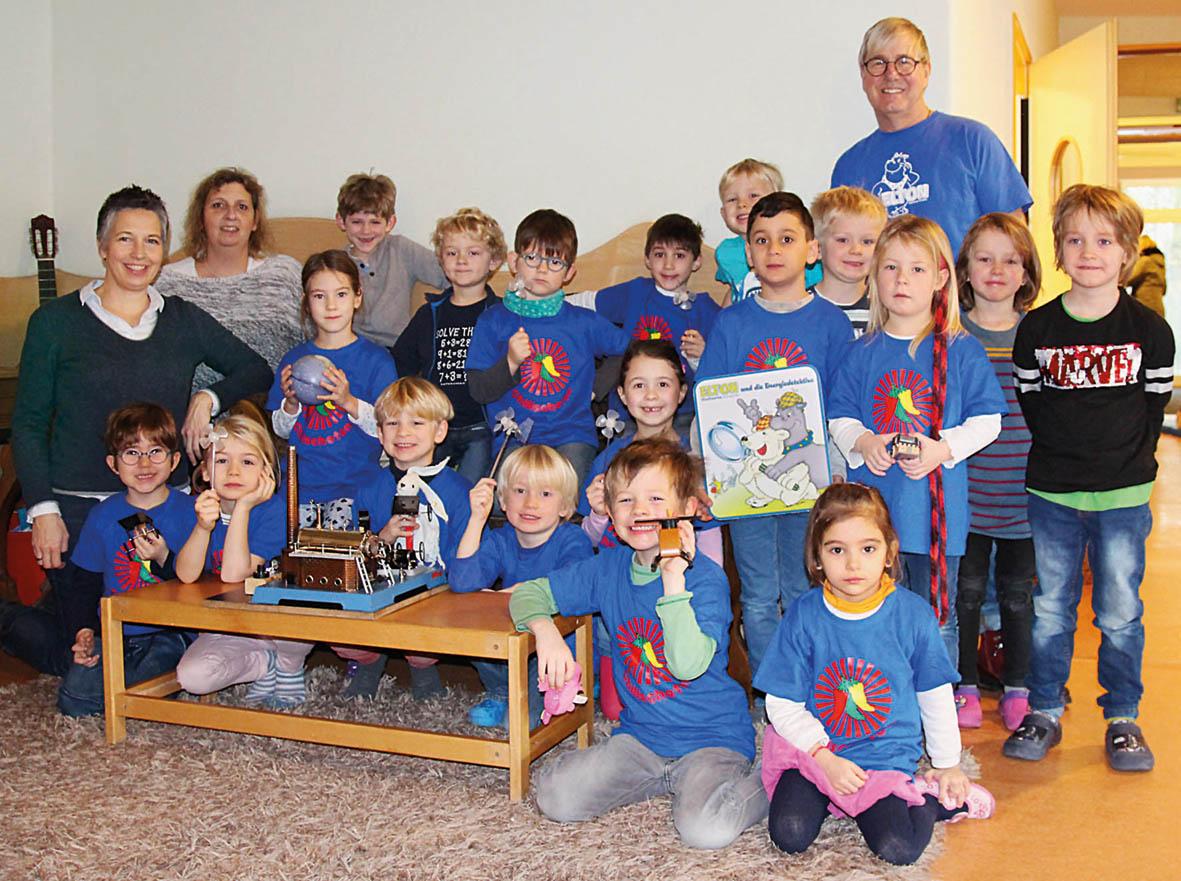 """Projekt """"Energie erleben"""" der Stadtwerke bei Vorschulkindern"""