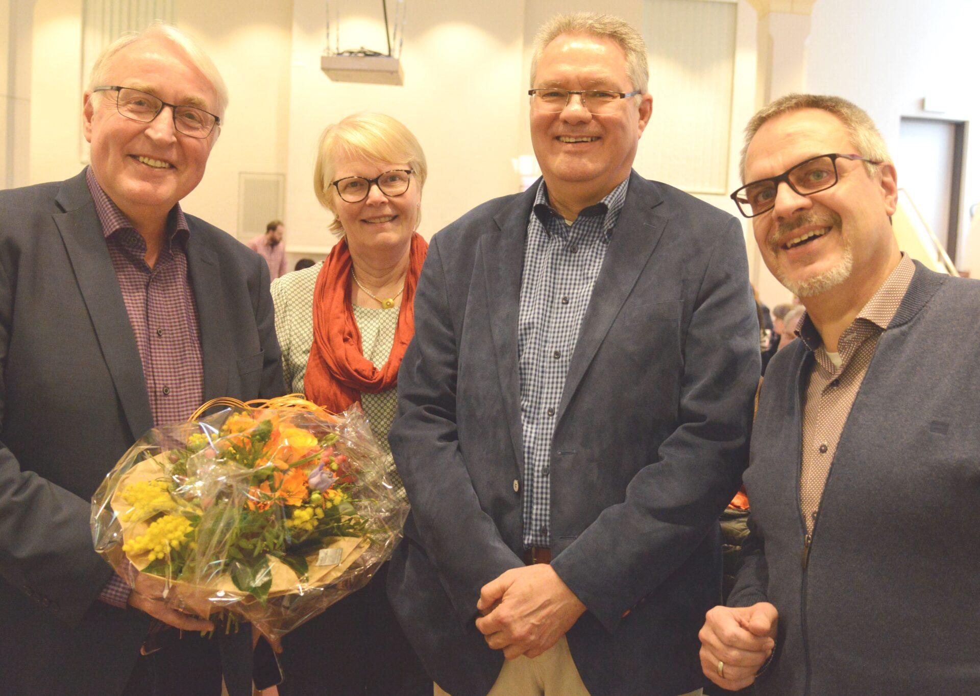 Opa ante portas: Langner in den Ruhestand verabschiedet