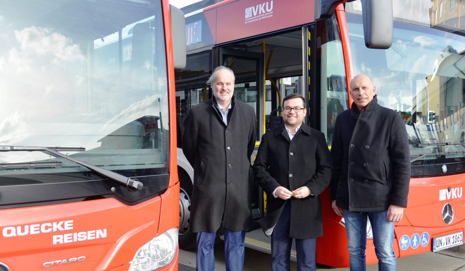 Qualität im Busverkehr: Stadt und VKU auf einer Linie