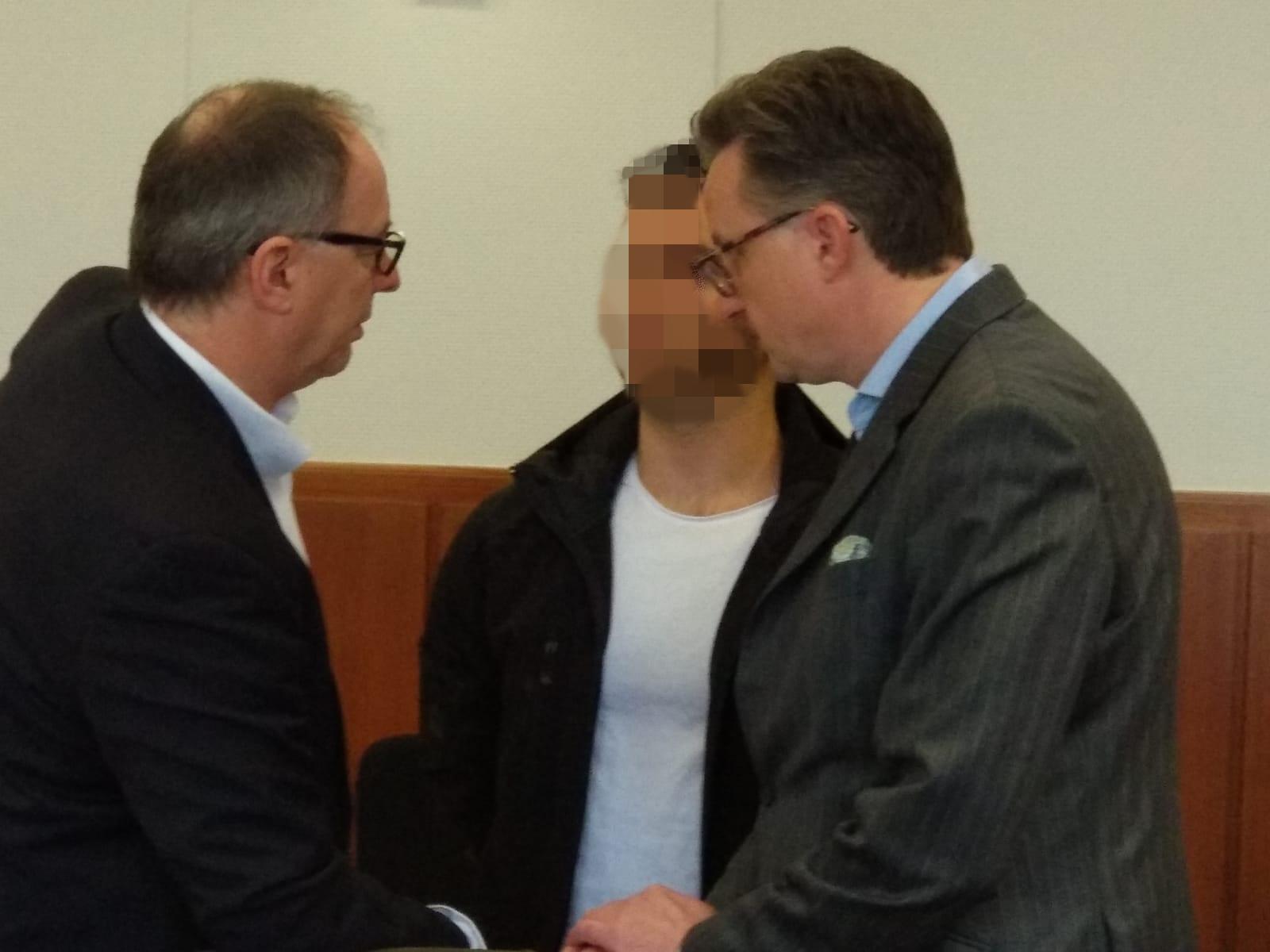 Verurteilung wegen gefährlicher Körperverletzung: Levan O. (22) muss für drei Jahre ins Gefängnis