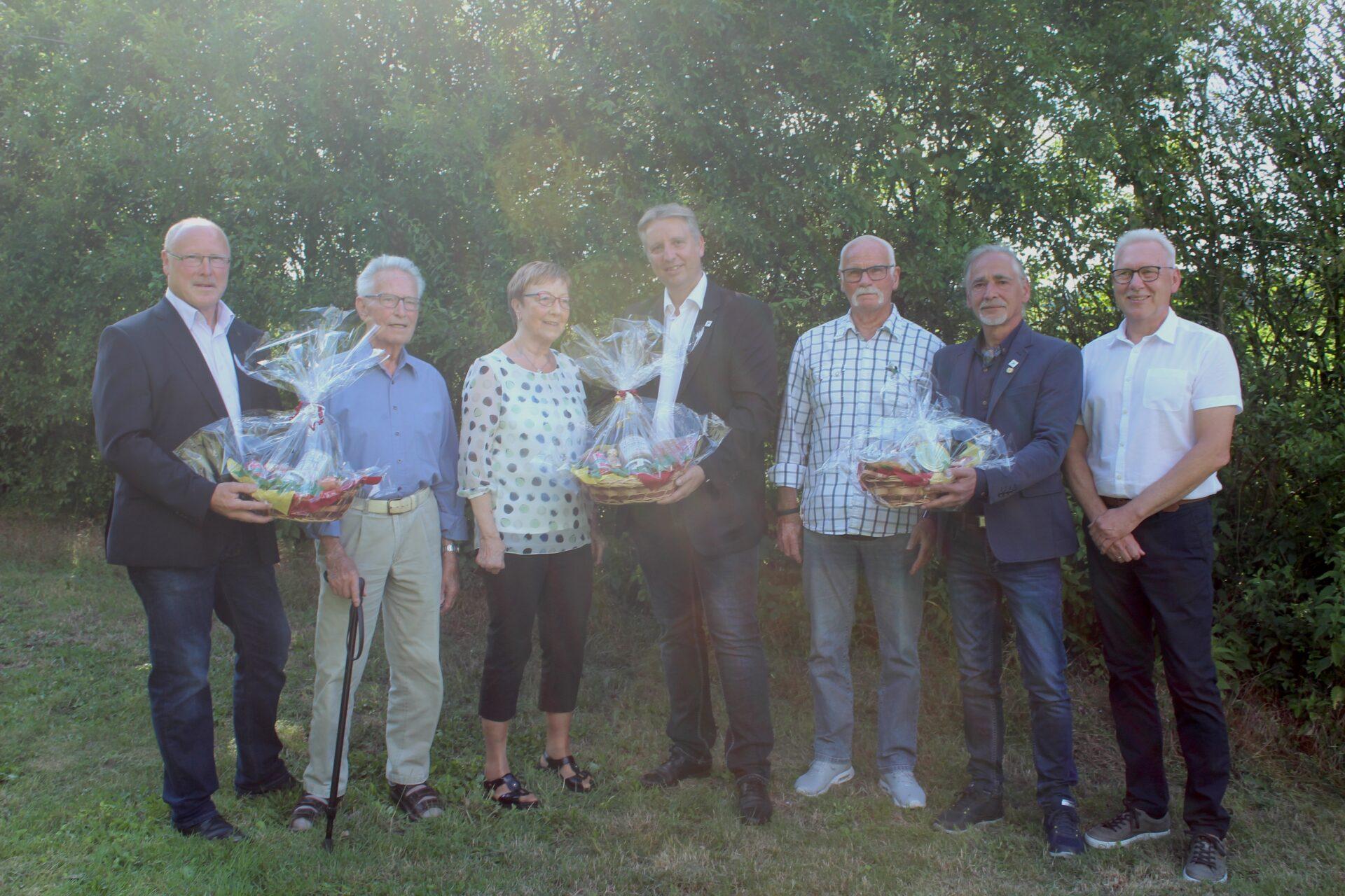 Langjährige EWG-Mitglieder geehrt