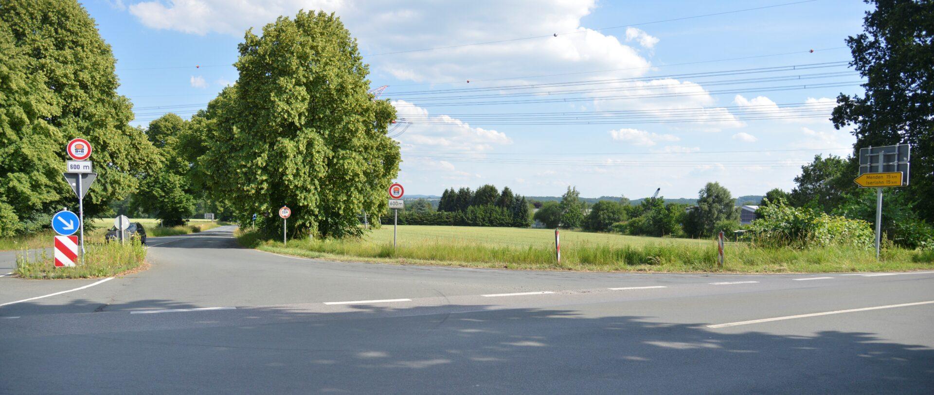 Langsamer fahren: Bereich Unnaer Straße / Zum Wellenbad wird entschärft