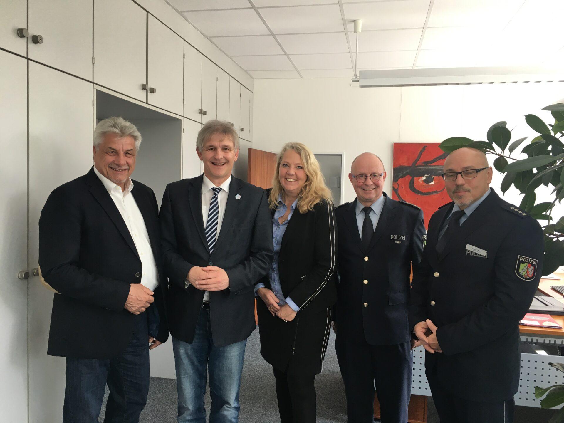 CDU führte Sicherheitsgespräch beim Landrat