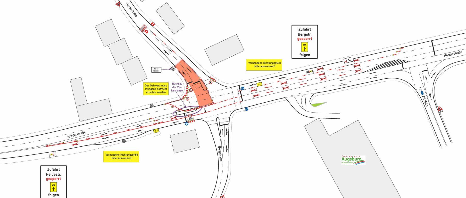 Verschiedene Sperrungen: Auch Hörder Straße wird halbseitig gesperrt