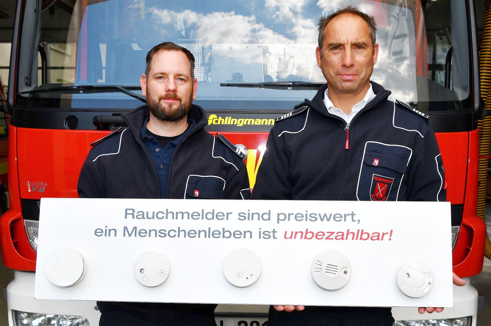 Rauchmeldertag: Feuerwehr Schwerte weist auf Rauchwarnmelderpflicht hin