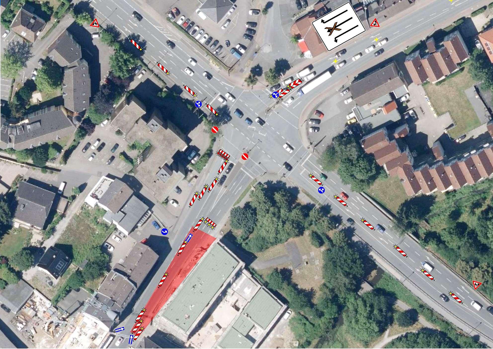 Einfahrt zur Ostenstraße wird gesperrt – und für einen Tag entsperrt