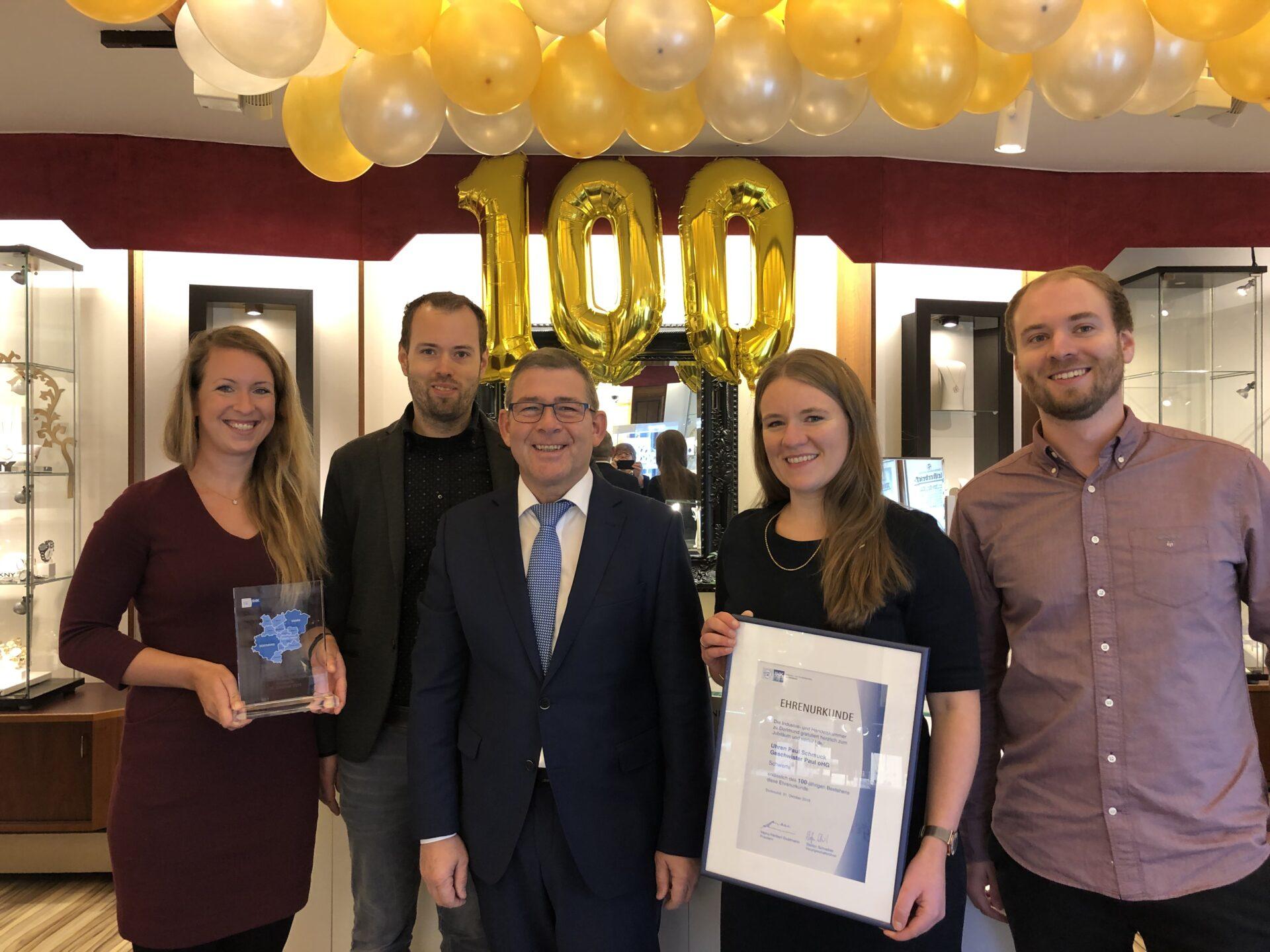 100 Jahre Paul in Schwerte – Ein Familienunternehmen mit langer Tradition feiert Jubiläum