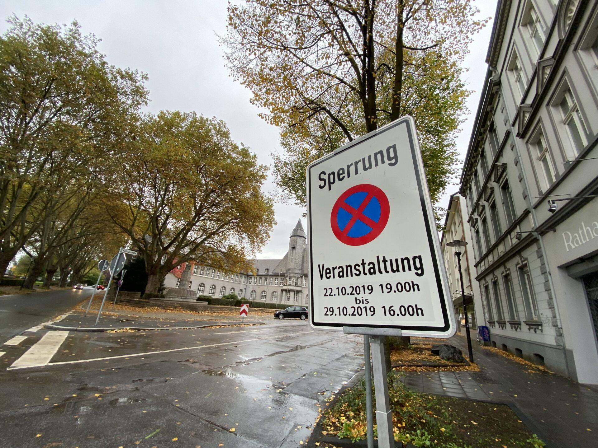 Straßensperrungen: Die Herbstkirmes kommt