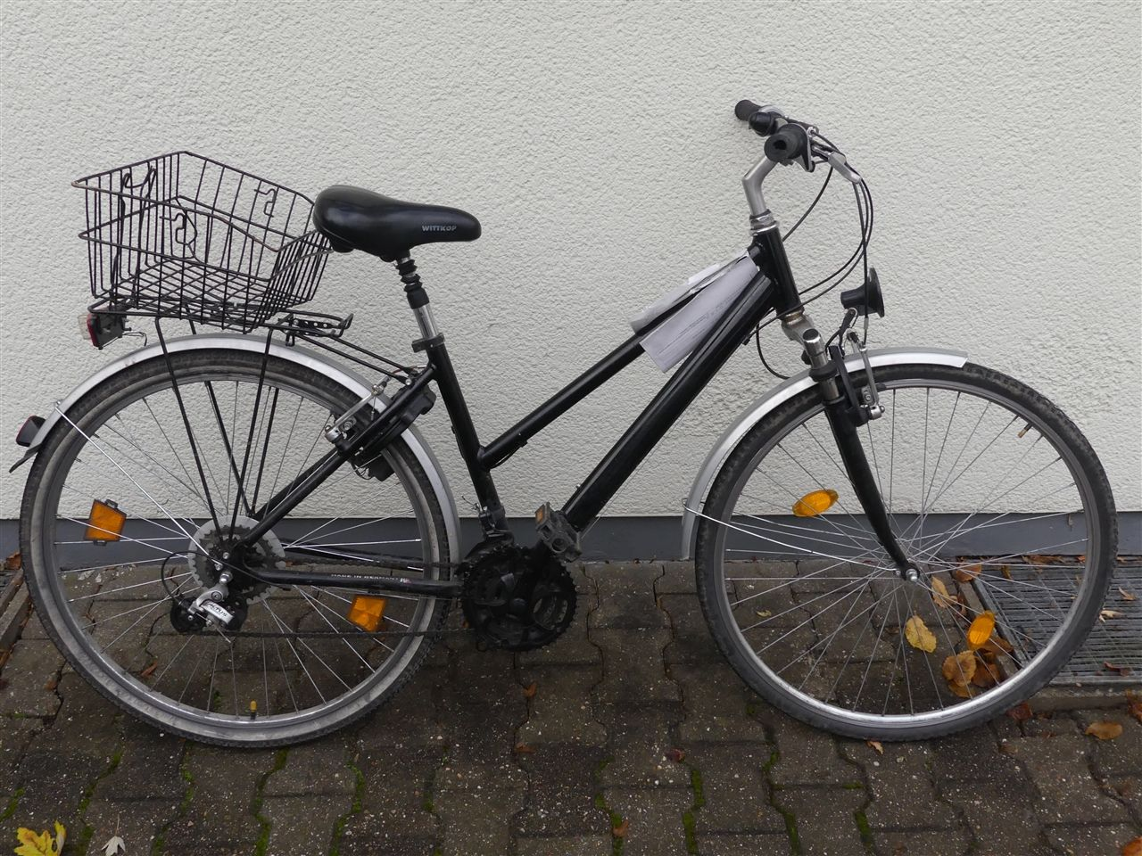 Fahrrad sichergestellt: Wem gehört es?