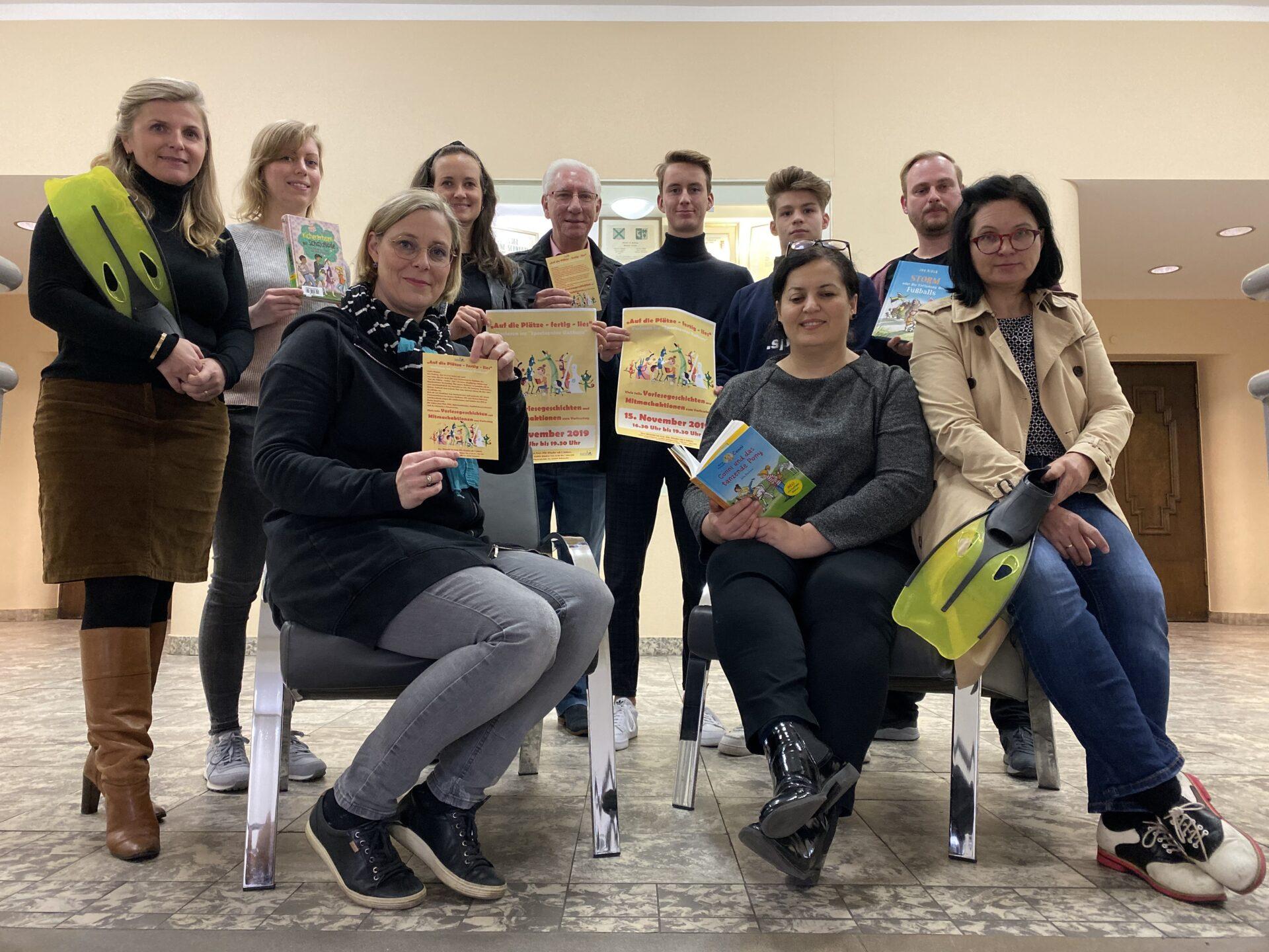 Vorlesetag im Rathaus: Viele Aktionen am 15. November