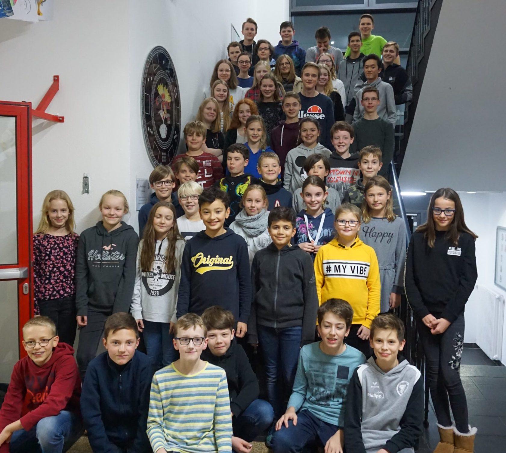 Lange Nacht der Mathematik am Ruhrtal-Gymnasium