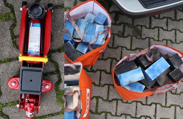 Versuchter Felgendiebstahl: Radmuttern an mehreren Fahrzeugen gelöst