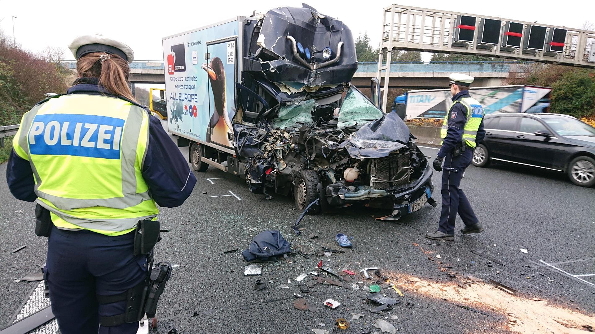 Schwerer Unfall auf A1 – Amputation erforderlich