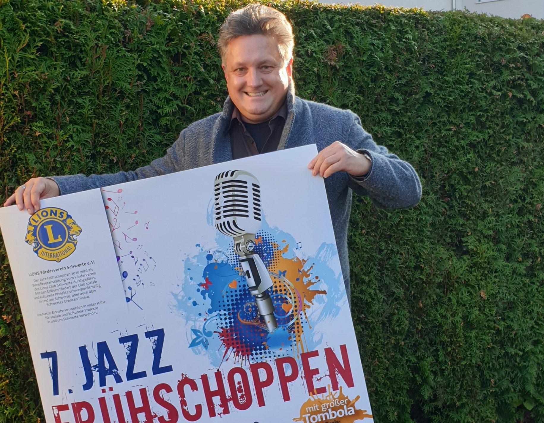 Countdown für 7. Benefiz Jazz-Frühschoppen: MeinSchwerte verlost 2×2 Karten
