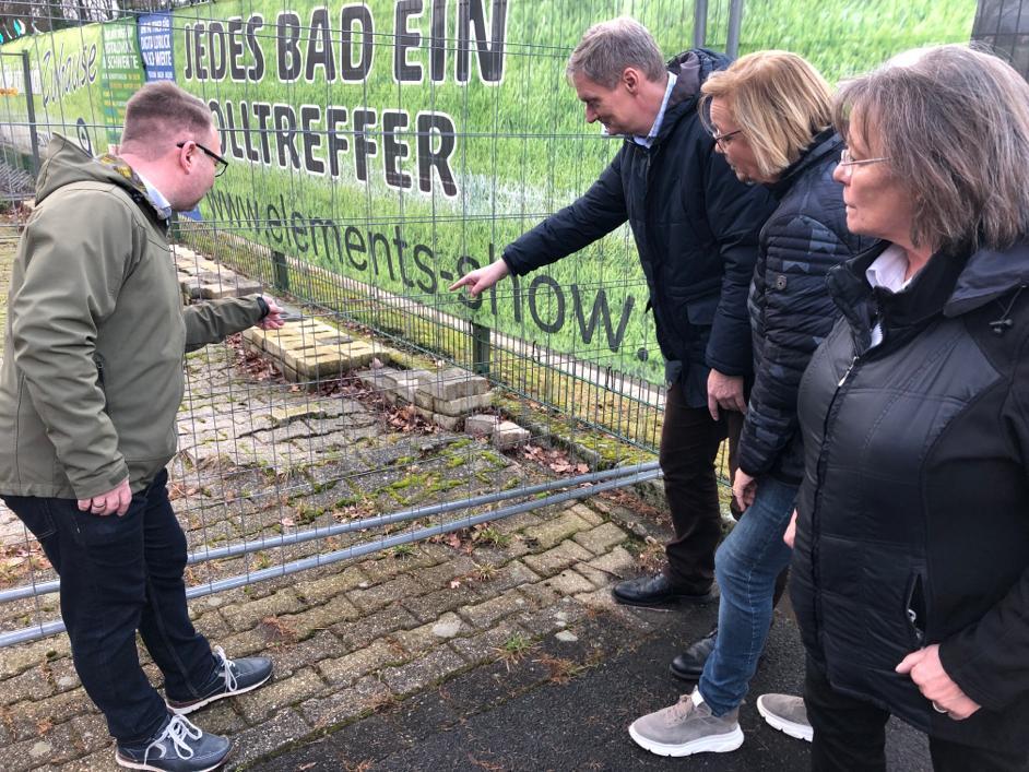 SPD setzt sich für die Verkehrssicherheit des Parkplatzes am Waldstadion ein