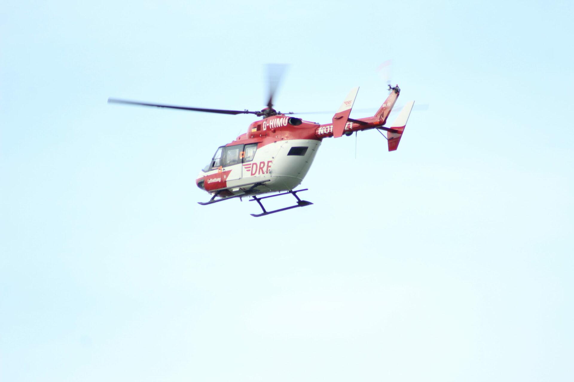 Hubschrauber suchte nach vermisster Frau aus Seniorenheim
