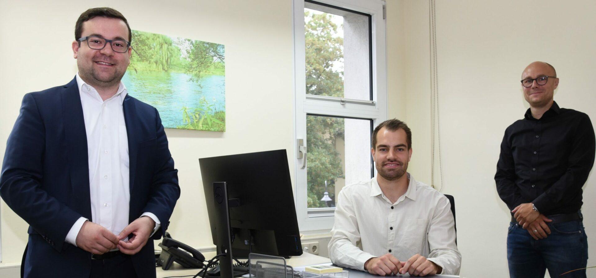 Neuer Umwelt- und Klimaschutzbeauftragter: Bürgermeister begrüßt Florian Hübner