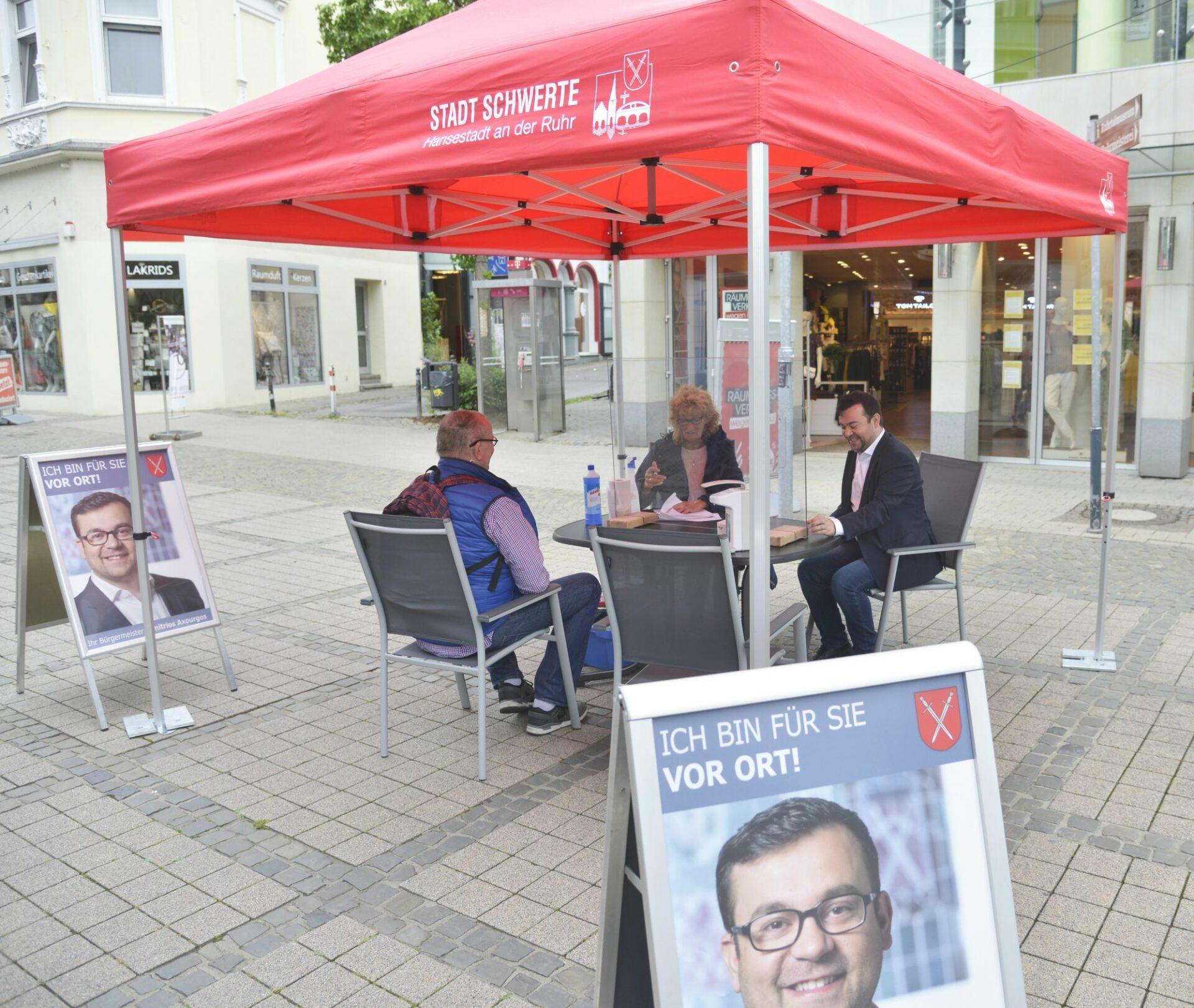Bürgermeistersprechstunden: In Innenstadt und Ortsteilen