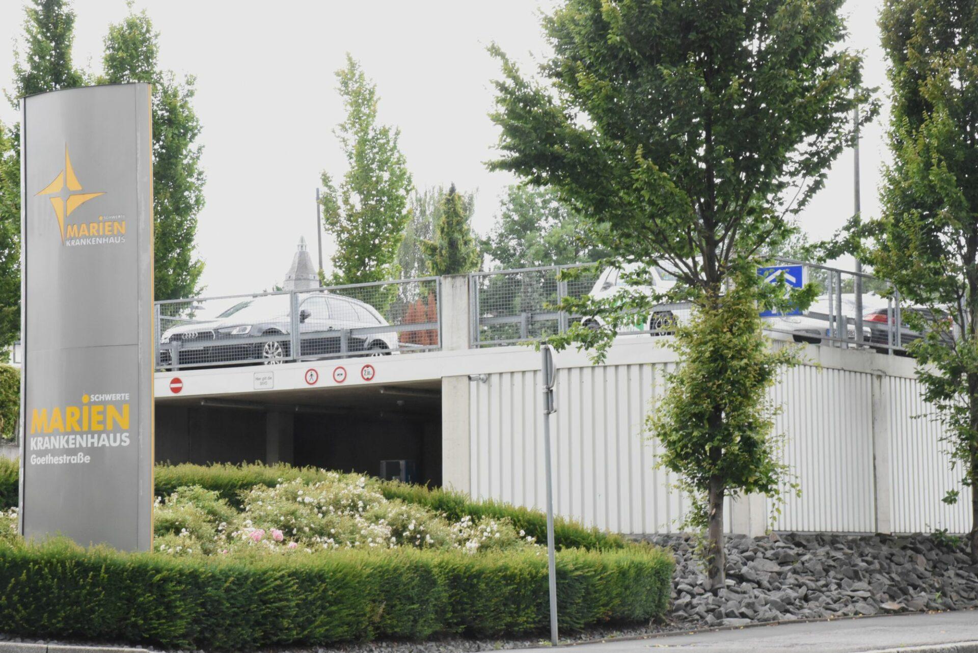 Parkhaus am Marienkrankenhaus wird aufgestockt