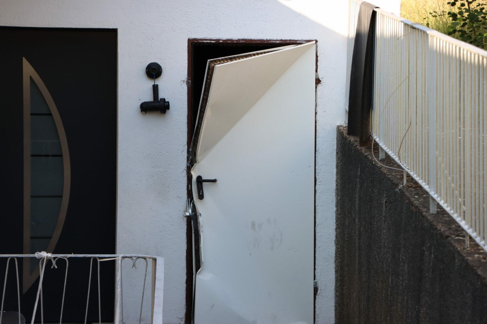 Wurde hinter dieser Tür in Ergste drei Tage lang gefoltert?