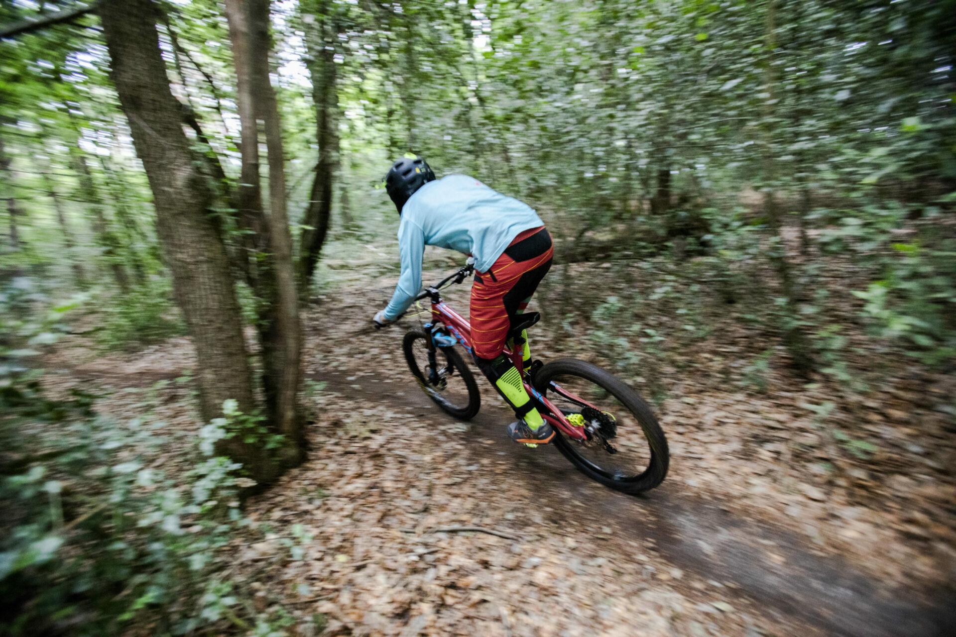Mountainbikestrecke am Ebberg gesperrt – Stadt sucht legale Alternative