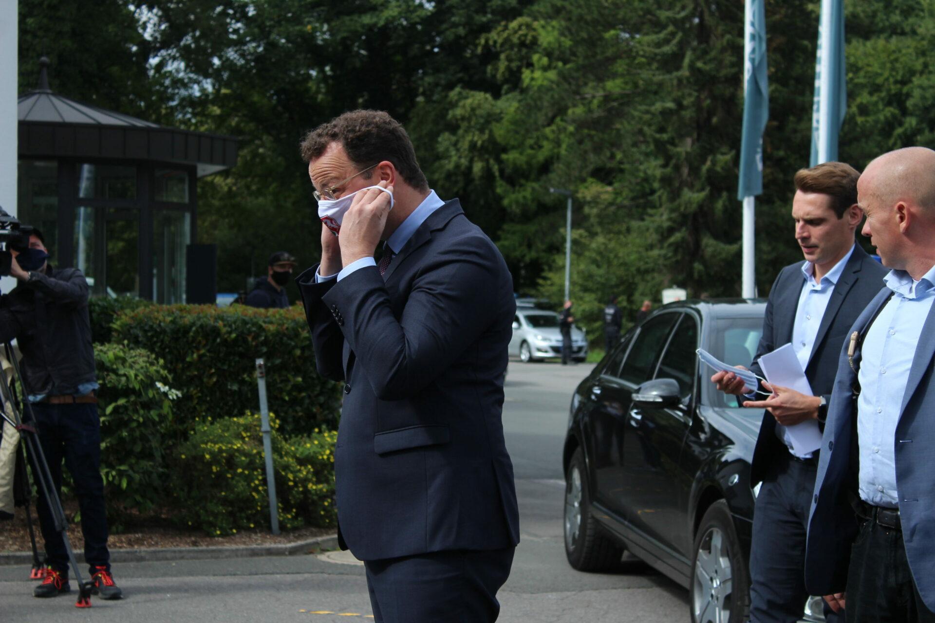 Bundesgesundheitsminister Jens Spahn war in Schwerte
